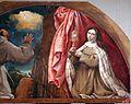 Lorenzo lotto, madonna delle rose, 1526, 02 ss. francesco e chiarta 3.jpg