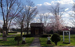 Charles Nerinckx - Image: Loretto Motherhouse (Nerinx, Kentucky) Father Charles Nerinckx Cabin