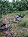 Lorry Wheels and Tyres - geograph.org.uk - 522318.jpg