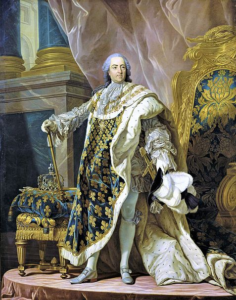 Portrait of Louis XV by Louis-Michel van Loo