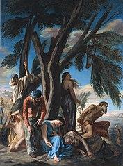 La dernière halte des Juifs emmenés en captivité à Babylone