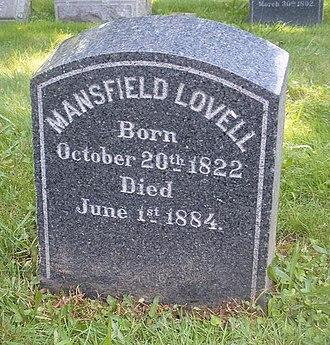 Mansfield Lovell - Lovell grave marker, Woodlawn Cemetery, Bronx