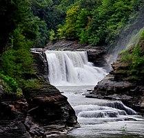 Lower Falls at Letchworth State Park, New York, USA.jpg