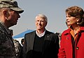 Lt. Gen. Caldwell talks with U.S. Senators Roger F. Wicker and Lisa Murkowski during a tour (4278919092).jpg
