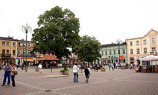 Lubliniec Place in Silesian Voivodeship, Poland
