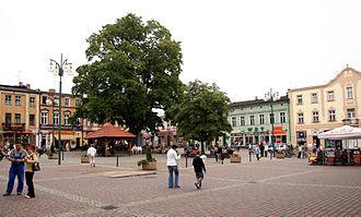 Lubliniec - Main square (Rynek)