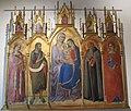 Luca di tommè, metterza e santi, 1367.JPG