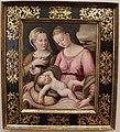 Luca longhi, madonna col bambino e s. giustina, 1530-70 ca. (ravenna).JPG