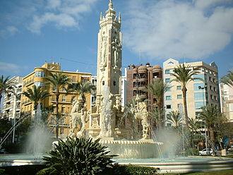 Alicante - Luceros Square