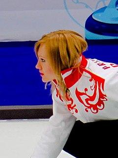 Liudmila Privivkova Russian curler