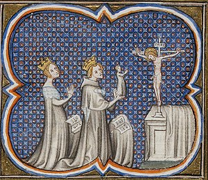 Adela of Champagne - Adela with Louis VII and Philip II