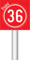 Luxembourg road sign diagram E, 21e pictogramme identification (1a).png