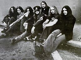 Lynyrd Skynyrd in 1973
