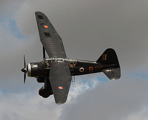 Westland Lysander - Preserved Lysander flying in 2012