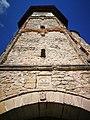 Mănăstirea Dobrovăț turn clopotnita.jpg
