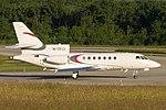 M-CFLY, Dassault Falcon 50 FA5X (18458742363).jpg