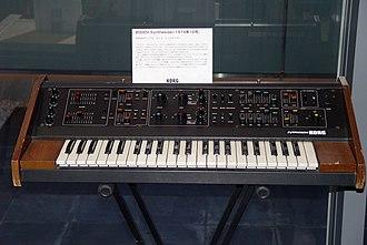 Korg - Image: MAXI KORG 800DV (1974)