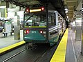 MBTA Green Line Type 8 LRV at Park Street station.jpg