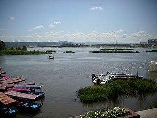 Mudan River river in the Peoples Republic of China