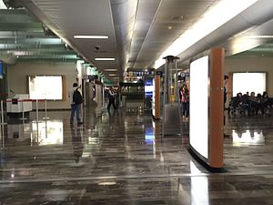 Monterrey International Airport - North Gate of Terminal A.