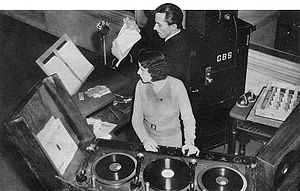 The March of Time (radio program) - CBS sound effects chief Ora Daigle Nichols and George O'Donnell on The March of Time