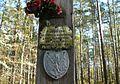 MOs810, WG 2013 21, OChK Baszkow Rochy, Cross of Napoleon Bonaparte.JPG