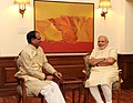 MP CM Shivraj Singh Chouhan meets PM Modi.jpg