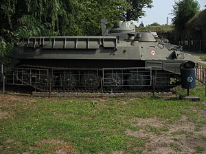 MT-LB armored personnel carrier at the Muzeum Polskiej Techniki Wojskowej in Warsaw.jpg