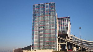 Texas Motor Speedway - Texas Motor Speedway Club building in Fort Worth, Texas