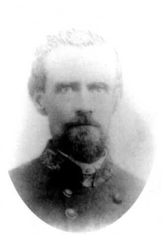 33rd Regiment Alabama Infantry - Brigadier General Mark Lowrey, who became 33rd's Brigade Commander after Chickamagua.
