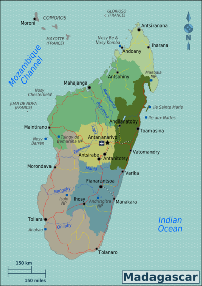 Map Of Africa Madagascar.Madagascar Travel Guide At Wikivoyage