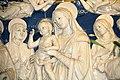 """Madonna col Bambino e i Santi Francesco, Elisabetta d'Ungheria, Cristina di Bolsena (o Orsola) e Lorenzo"""", Andrea della Robbia (1500 ca.), 02.jpg"""