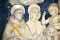 """Madonna col Bambino e i Santi Francesco, Elisabetta d'Ungheria, Cristina di Bolsena (o Orsola) e Lorenzo"""", Andrea della Robbia (1500 ca.), 04.jpg"""