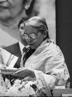 Mahasweta Devi Indian Bengali fiction writer and socio-political activist