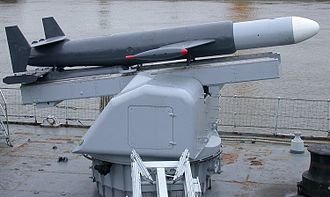 A Malafon torpedo-carrying missile of the 1960s Maille-Braize-14.jpg