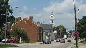 Nicholasville, Kentucky - Main Street