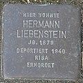 Mainbernheim Stolperstein Liebenstein, Hermann.jpg