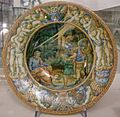 Maiolica di urbino, bottega dei fontana, ascanio, 1550 ca.jpg