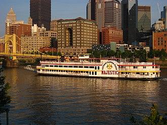 Gateway Clipper Fleet - Image: Majestic in Pittsburgh