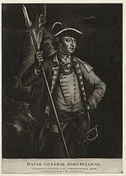 Major General John Sullivan, a distinguished officer in the Continental Army (NYPL NYPG94-F149-419970)