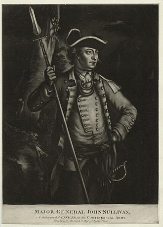 John Sullivan (general) - Major General John Sullivan, a distinguished officer in the Continental Army.