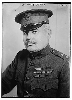 Robert Alexander (United States Army officer) - Alexander in 1919