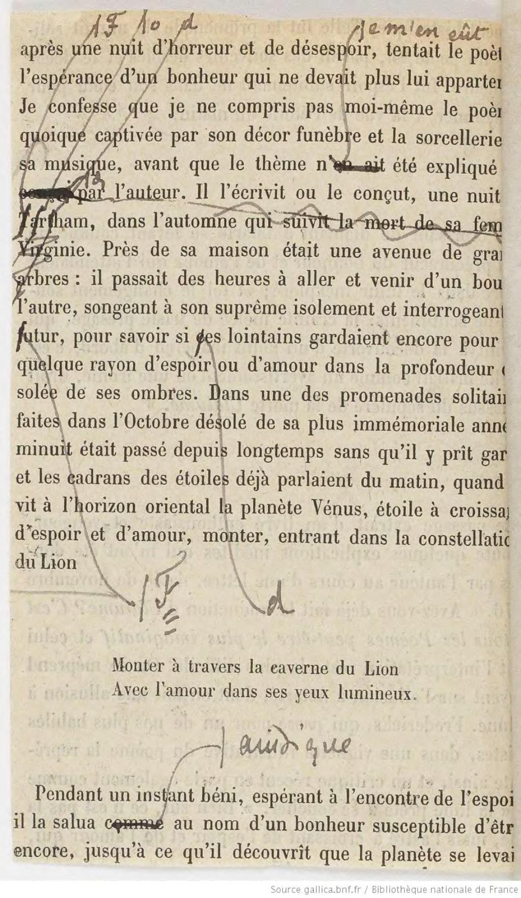 Pagemallarmé Les Poèmes Dedgar Poe Maquette 1888djvu