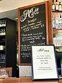 Malt Pier Bistro menu board, Newstead, Queensland.jpg