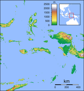 Manuk is located in Maluku