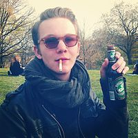 Man drinking Brooklyn Lager.jpg