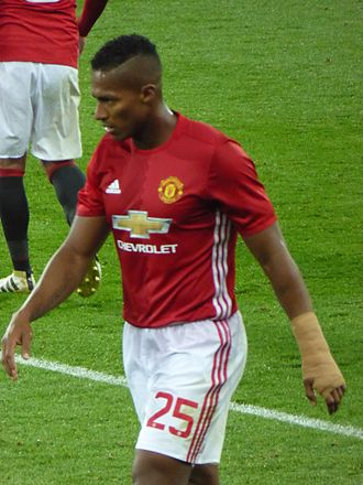 Antonio Valencia - Valencia with Manchester United in 2016