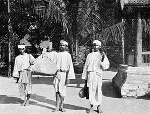 Burmese Indians - Manipuri Brahmins in British Burma, circa 1900.