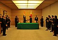 Manmohan Singh and the Prime Minister of Japan, Mr. Naoto Kan exchanging the signed documents of a Joint Statement Vision for India-Japan Strategic and Global Partnership in the next decade, in Tokyo, Japan (1).jpg