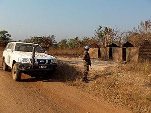 Katanga insurgency - Image: Manono patrol